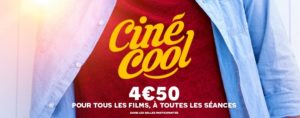 Cinécool 2019 du 24 août au 31 août 2019 @ UGC Ciné cité Strasbourg