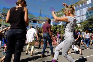 Strasbourg danse l'été, Training en douceur avec Yoko Nguyen @ Parc du Heyritz