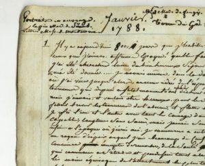 Atelier de paléographie : le journal de Guérin @ Archives de Strasbourg (officiel)