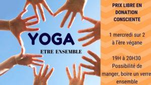 Communauté yoga @ L'ère végane